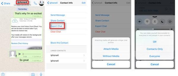 Back-Up-WhatsApp-messages-com-lançamento aéreo