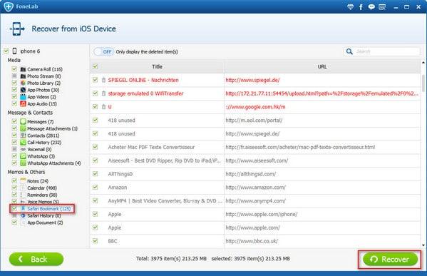 恢復-iphone-Safari瀏覽器書籤